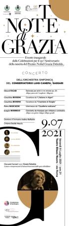 """Celebrazioni Deleddiane, presentato l'evento inaugurale """"Not(t)e di Grazia"""" organizzato dal Comune"""