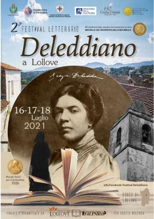 Festival Letterario Deleddiano - Venerdì 16, sabato 17 e domenica 18 luglio 2021