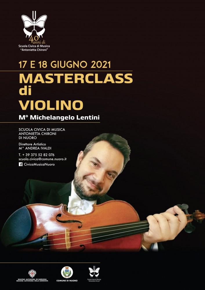 Masterclass di Violino 17 e 18 giugno 2021